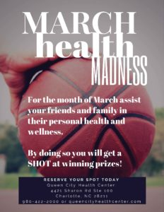 March Health Madness Flyer